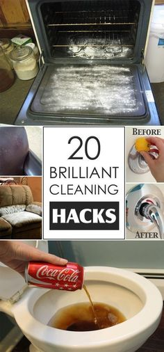 Tips For Gardening Brilliant hacks that will certainly makes your cleaning simpler, cheaper and less toxic for kids and pets. - Check out these brilliant hacks that will certainly makes your cleaning simpler, cheaper and less toxic for kids and pets. House Cleaning Tips, Deep Cleaning, Spring Cleaning, Cleaning Recipes, Cleaning Tips Tricks, Cleaners Homemade, Diy Cleaners, Household Cleaners, Household Tips