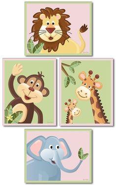 NurseryWall art baby nursery decor nursery print by smileywalls