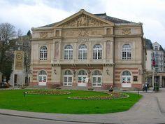 Theater, Baden-Baden, Germany