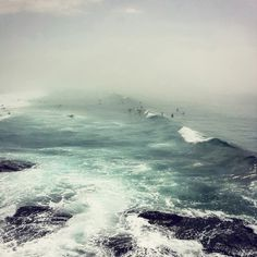 """시드니 본다이 비치 (""""Bondi Haze"""" – Bondi Beach Sydney Photography by. Sydney Photography, Art Photography, Digital Photography, Beautiful World, Beautiful Places, No Wave, Bondi Beach Sydney, Am Meer, Ocean Waves"""