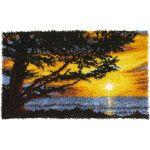 Caron Wonderart Latch Hook Kit Monterey Sunset