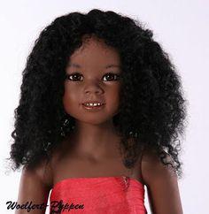 33-1/2 inch all vinyl doll by Woelfert Puppen, now mine.  ☺