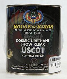 House of Kolor Kosmic Urethane Show Klear 1 Quart Car Painting, Body Painting, Valspar, Home Buying, Shot Glass, Link, Tableware, Image, House