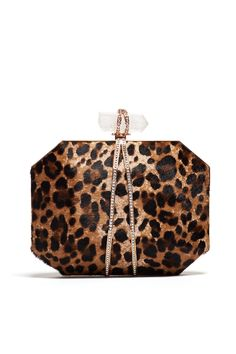 Iris Leopard Clutch by Marchesa Handbags Holiday Style, Holiday Fashion, Leopard Clutch, The Clash, Marchesa, Style Guides, Designer Handbags, Iris, Coin Purse
