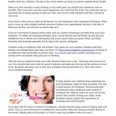 The Pearly White Guide To A Mind-blowing Smile No matter how busy you are, you should never neglect taking care of your teeth. Dental care is something you. http://slidehot.com/resources/the-pearly-white-guide-to-a-mind-blowing-smile.63528/
