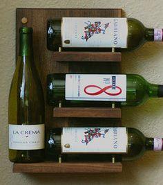 Meriwether wine rack shelf on sale at Huckberry for $67