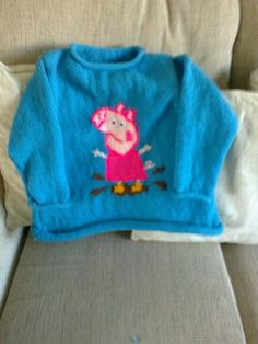 George Pig Knitting Pattern Jumper : 1000+ images about peppa pig knitting on Pinterest George pig, Peppa pig an...