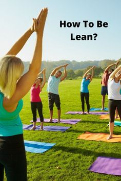 We all want to be leaner, but it's not always easy. Here are six ways you can make your body healthier and more active! It's never too late to start--even if you're already in a healthy weight range. You'll reap the rewards of being lean with these tips for success! In this post, you will learn how to be lean and not bulky besides learning how to be lean and toned. Never Too Late, Physical Fitness, Healthy Weight, Self Improvement, Self Help, Lifestyle Blog, Health Fitness, Motivation, Learning