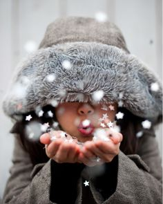 Winter moment ♥ Fun photo session idea ♥ Child Photography ♥ Perfect Christmas Card