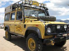 Camel Trophy Land Rover Defender 110