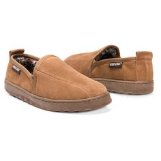 0c84cdd446a MUK Luks Womens Jane Suede Moccasin
