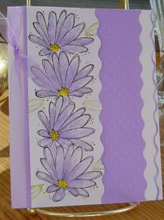 Lavender Beauties by Arkie - Cards and Paper Crafts at Splitcoaststampers