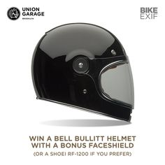 We've got an exciting giveaway for Bike EXIF readers: the chance to win a Bell Bullitt helmet with a bonus faceshield, or a Shoei RF-1200. Also up for grabs are a beautiful @uniongaragenyc 'Robinson' motorcycle jacket worth $699, and one of Union Garage's famous 50-piece Tool Rolls. Enter before 8 March 2015—the promotion is open to readers over the age of 18 and there's a short survey that will take a couple of minutes to answer. Good luck!