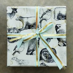 Antler Woodland 3m roll wrapping paper