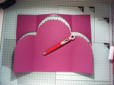 Tutorial on how to do the Curved Top Gatefold Thank You Card.