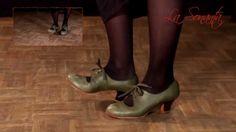 Free Flamenco dance lesson 1: Zapateado por tango