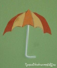 Manualidades con mis hijas: Paraguas de collage Leo, Easy Crafts, Daughters, Umbrellas, Preschools, Activities, Lion