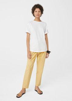 Organic cotton t-shirt | MANGO