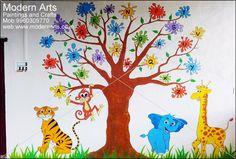 11 play school wall painting mumbai.jpg (593×400)