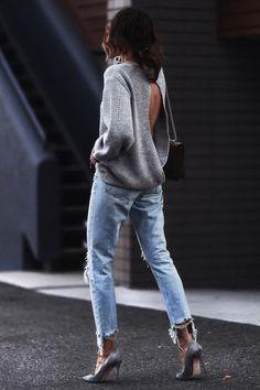 A blogger Erica Hoida é famosa por seus looks simples, com peças atemporais mas com estilo. Vem se inspirar com 5 outfits da blogger.