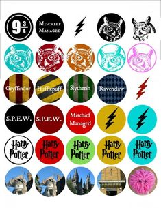 Diy Bottle Cap Crafts 188799409367023110 - Harry Potter Bottle Cap Tutorial – Free Printable – Page 2 of 4 – Morena's Corner Source by centexwifey Harry Potter Planner, Cumpleaños Harry Potter, Harry Potter Stickers, Harry Potter Printables, Harry Potter Characters, Bottle Cap Crafts, Bottle Caps, Diy Bottle, Fairy Coloring Pages