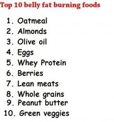 Top 10 belly fat burning foods it-s-time-to-get-fit-and-healthy