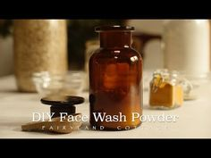 DIY Face Wash Powder - Low Waste and Simple