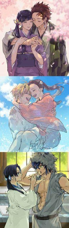 Kimetsu no yaiba M Anime, Fanarts Anime, Anime Demon, Otaku Anime, Anime Love, Kawaii Anime, Anime Guys, Anime Characters, Anime Art