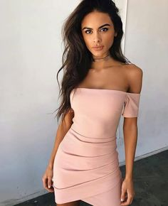 WYHHCJ 2017 Spring Sexy women dress Slash neck Sheath Mini Casual dresses zipper wear to evening party dress 7 - TakoFashion - Women's Clothing & Fashion online shop Sexy Summer Dresses, Sexy Dresses, Casual Dresses, Short Dresses, Fashion Dresses, Casual Clothes, Casual Outfits, Girl Outfits, Cute Outfits