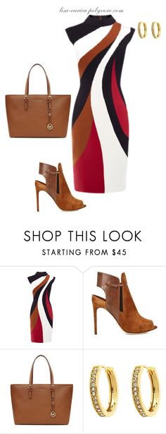 Untitled #288 by lisa-eurica on Polyvore featuring Sergio Rossi, MICHAEL Michael Kors and Monet