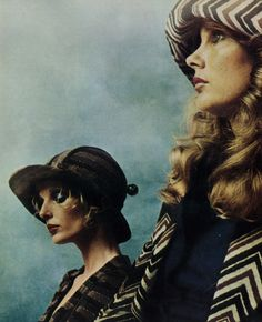 Jean Shrimpton by Duffy  Biba, 1973
