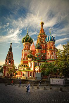Moscow. One day ill be going there and to the Amber Room