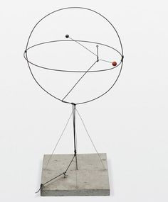 Alexander Calder - 'Two Spheres within a Sphere' (1931)