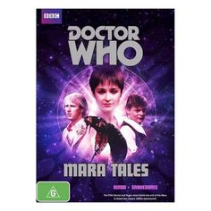 Doctor Who: Mara Tales DVD Aust. Region 4 - Peter Davison - Kinda & Snakedance