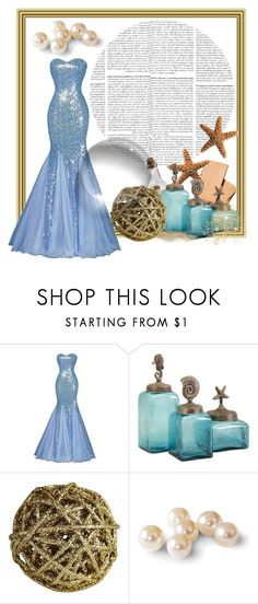 """""""Untitled #919"""" by helenaki65 ❤ liked on Polyvore featuring Nude and Pier 1 Imports"""