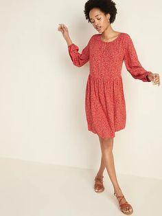Soft-Woven Keyhole Swing Dress for Women | Old Navy Hot Dress, Dress Up, Womens Swing Dress, Keyhole Dress, Old Navy Women, A Line Skirts, Fashion Dresses, Women's Dresses, Dress To Impress