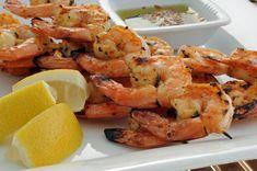 Citrus herbed jumbo shrimp