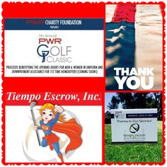 PWR Golf Classic! We will always support our men and woman in uniform.