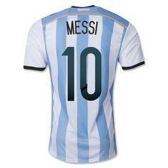 Grade Original 2014 Hot sale home MESSI Argentina soccer jersey. World Cup  EStore 6918b4b49