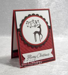 SUO Goodbye Dasher by stampinandstuff - Cards and Paper Crafts at Splitcoaststampers