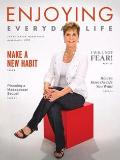 Joyce Meyer Enjoying Everyday Life Quotes New Inspired And Challengedjoyce Meyer Sparkteam  Joyce Meyer