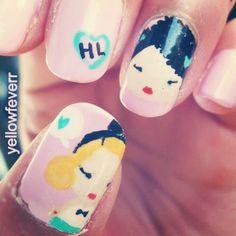 Harajuku lover nail art