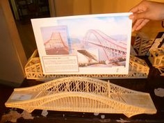 Chaotianmen Bridge Model - DIY Popsicle Stick Bridge Designs and Tutorials, http://hative.com/diy-popsicle-stick-bridge-designs-and-tutorials/,