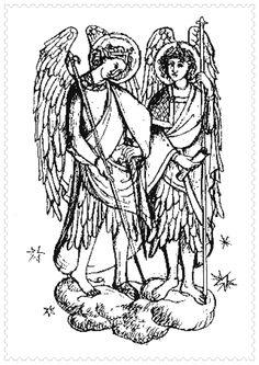 Sfintii Arhangheli Mihail si Gavril icoane si imagini de colorat Google Images, Puzzle, Art, Art Background, Puzzles, Kunst, Performing Arts, Puzzle Games, Art Education Resources