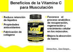 Vitamina C para musculación - Culturismo http://williambodybuilder.com/ http://fuerzamaximawilliam.wordpress.com/