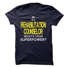 REHABILITATION COUNSELOR T-Shirts, Hoodies. SHOPPING NOW ==► https://www.sunfrog.com/LifeStyle/REHABILITATION-COUNSELOR-59329313-Guys.html?id=41382