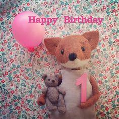 CRG1 | Happy 1st Birthday | Pippi & Me