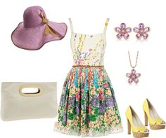 """""""Kentucky Derby Style"""" by steffiestaffie on Polyvore"""