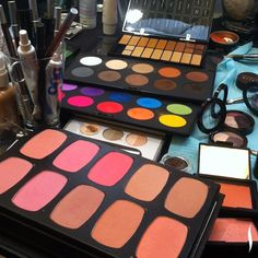 Repin if you think there's no such thing as too many palettes. #SephoraShoot #bemakeupartist