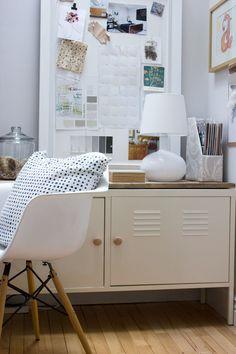 IKEA locker barn board hack for office